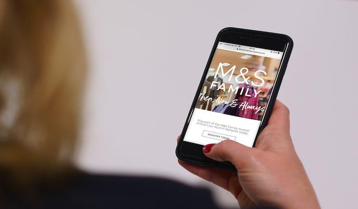 M&SAlumni on Mobile