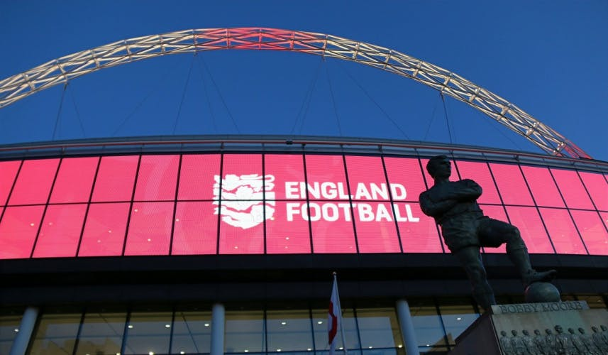 England Football rebrand